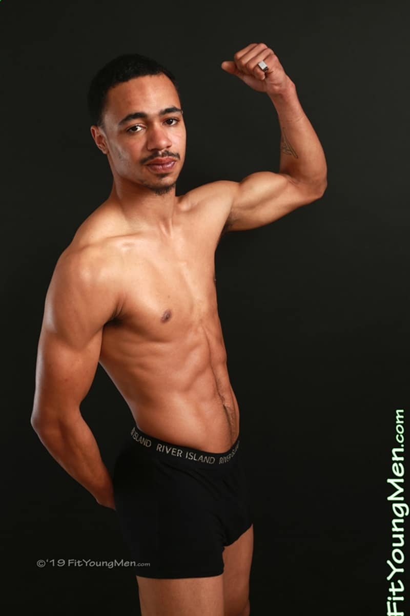 Sexy-ripped-black-footballer-Alex-Arnold-strips-footie-kit-jerking-huge-uncut-cock-FitYoungMen-003-Gay-Porn-Pics